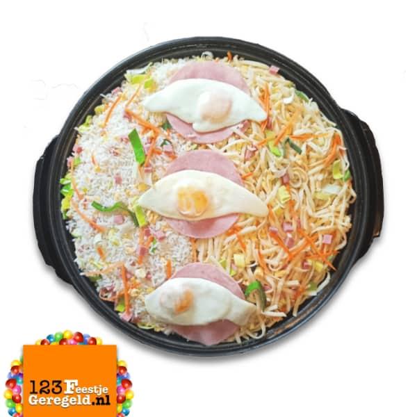 Nasi:Bami Goreng Pan Catering www.123FeestjeGeregeld.nl