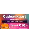 123feestjegeregeld.nl / 123cadeaukaart.nl 10 euro